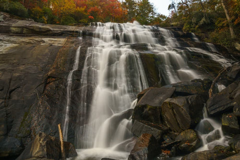 Rainbow Falls in the Fall
