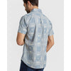 United By Blue Men's Natural Short Sleeve Button Down