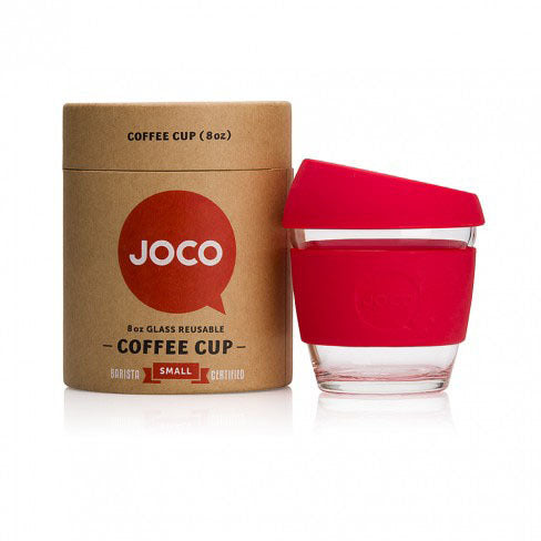 JOCO Glass Reusable Coffee Cup - 8 oz.