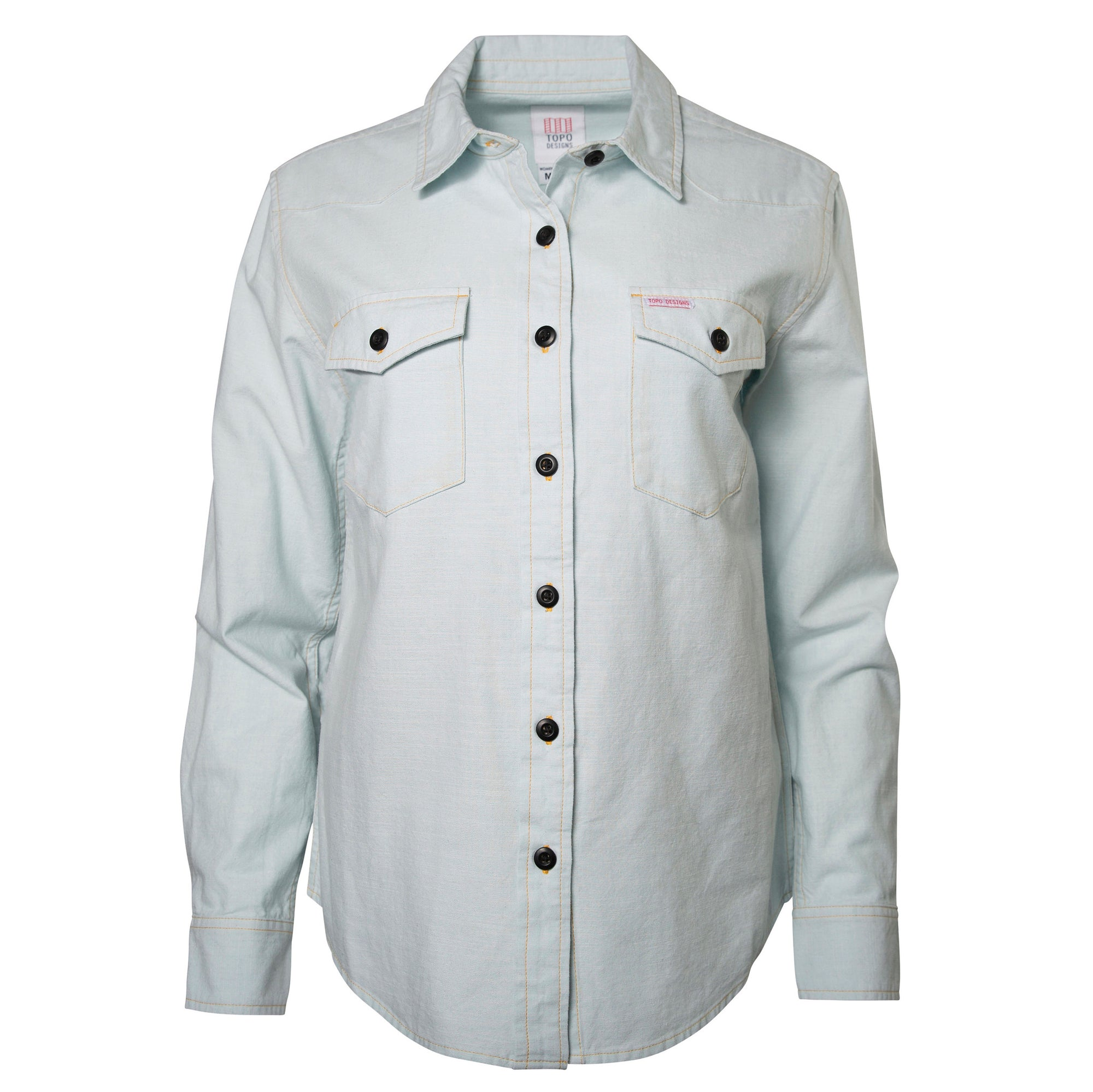 Topo Designs Women's Mountain Shirt - Chambray