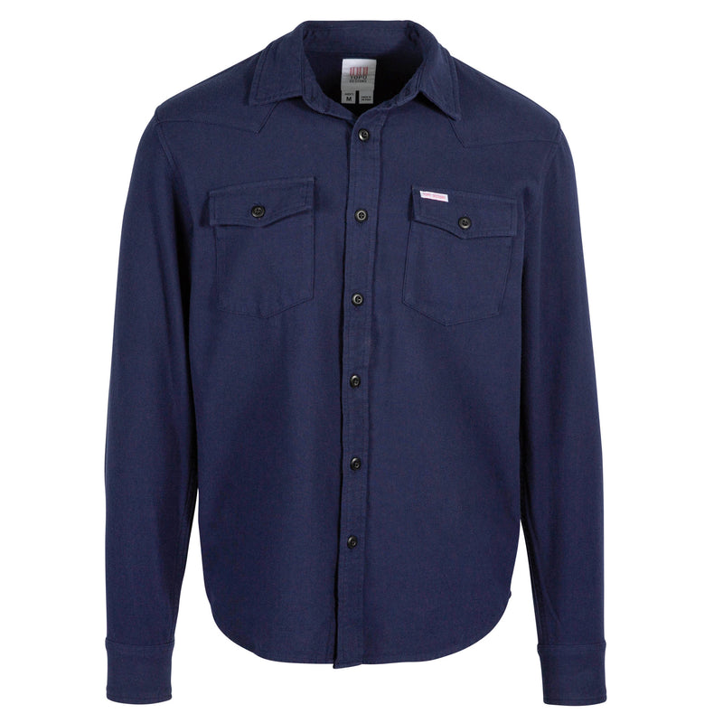 Topo Designs Men's Mountain Shirt - Solid