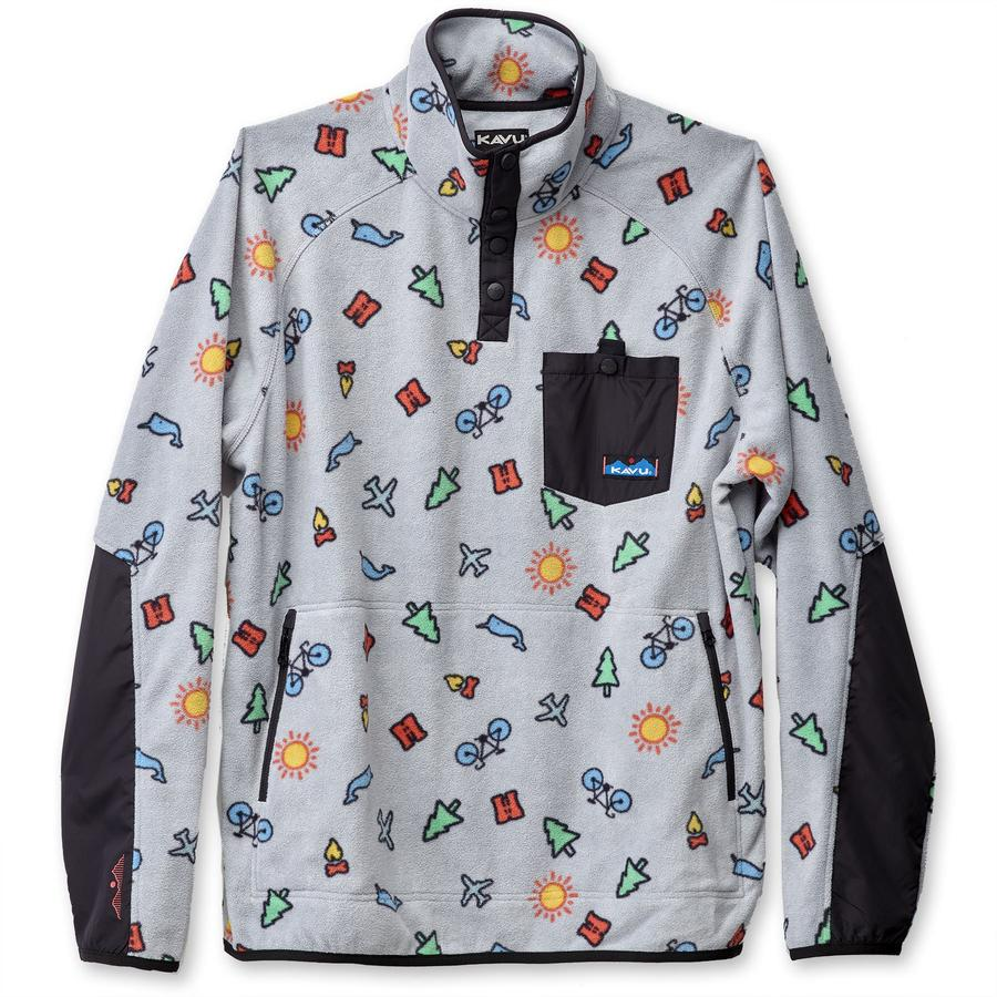 KAVU Teannaway Fleece Pullover - Sale