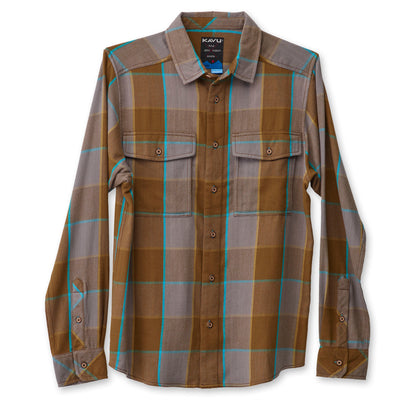 KAVU Men's Mountain High Button Up Shirt - Sale