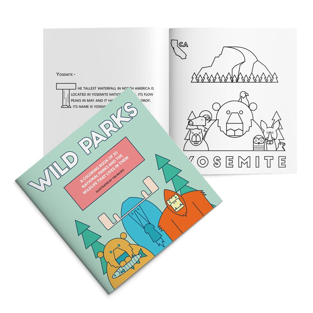 Parks Project Wild Parks Coloring Book