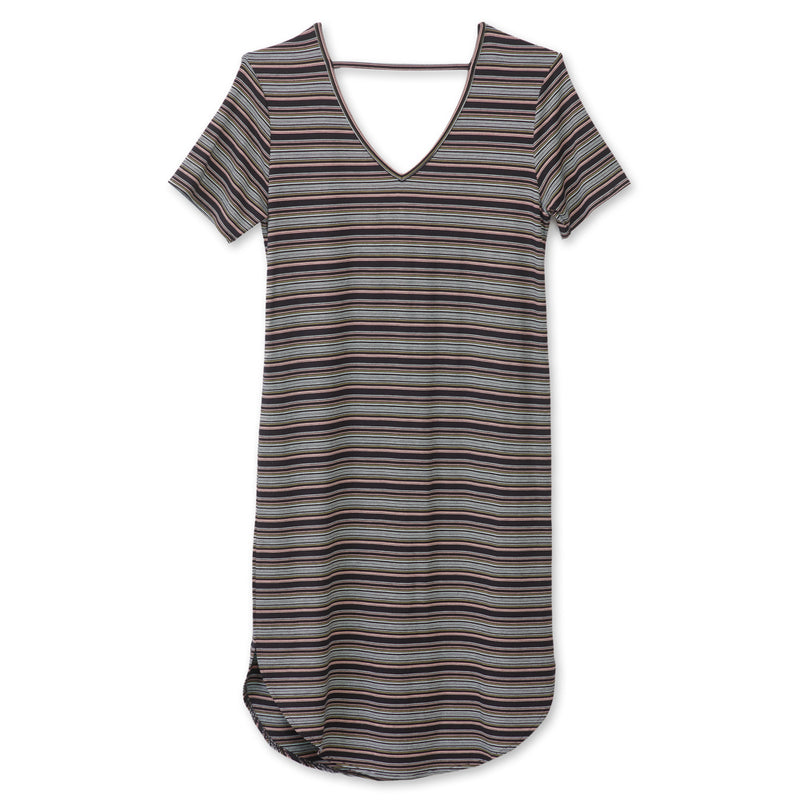 KAVU Sachi Dress - Night Stripe