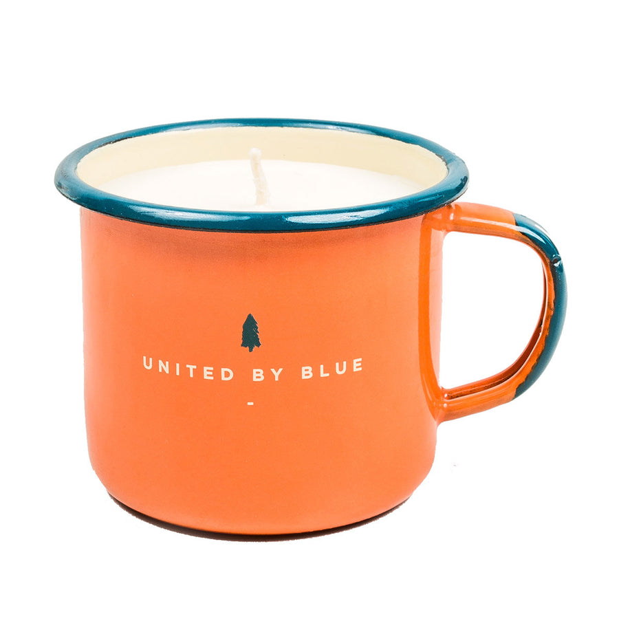 United By Blue S'mores Enamel Steel Mug Candle