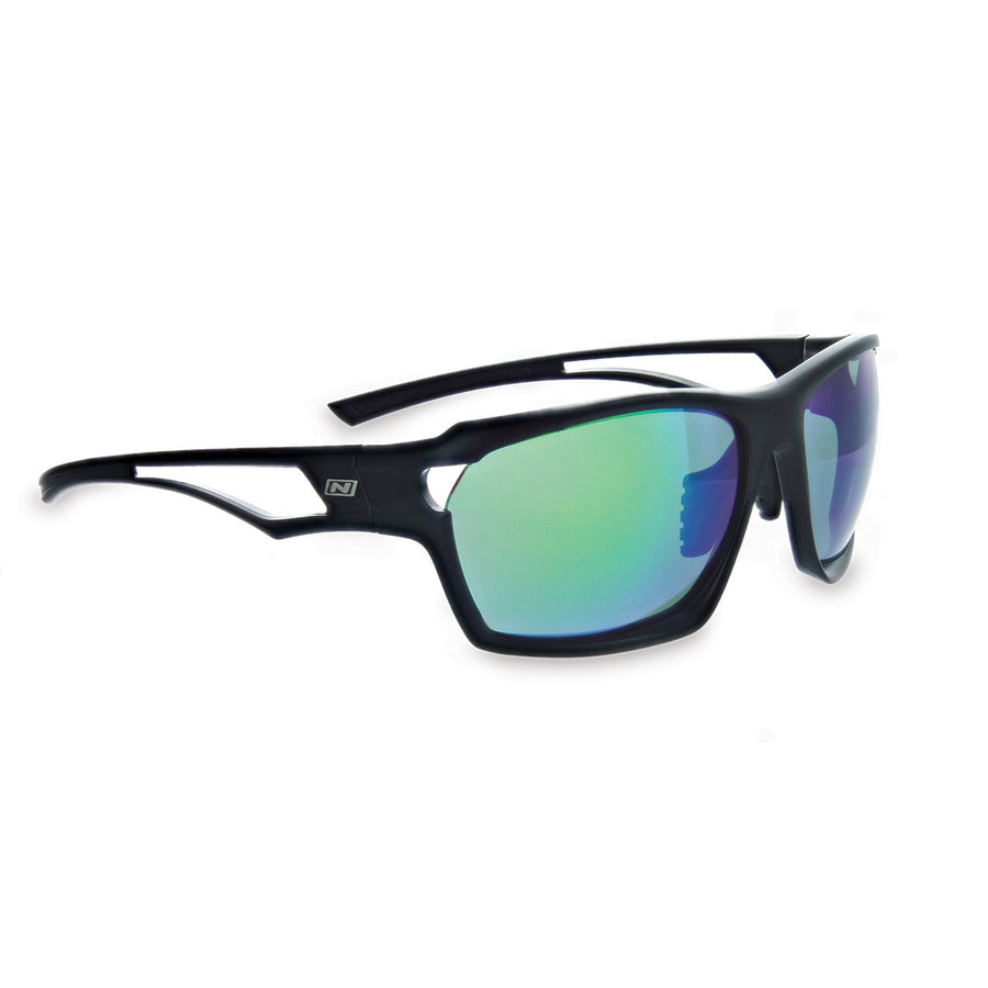Optic Nerve Variant Sunglasses - Matte Black