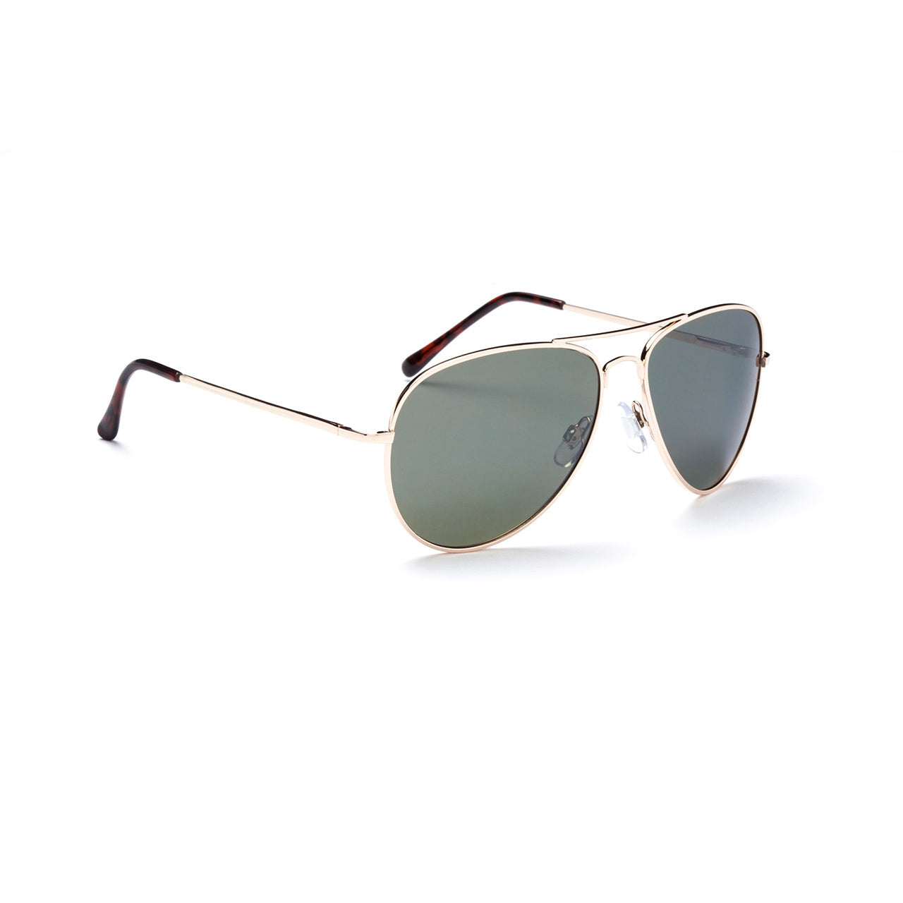 Optic Nerve Estrada Gold Sunglasses