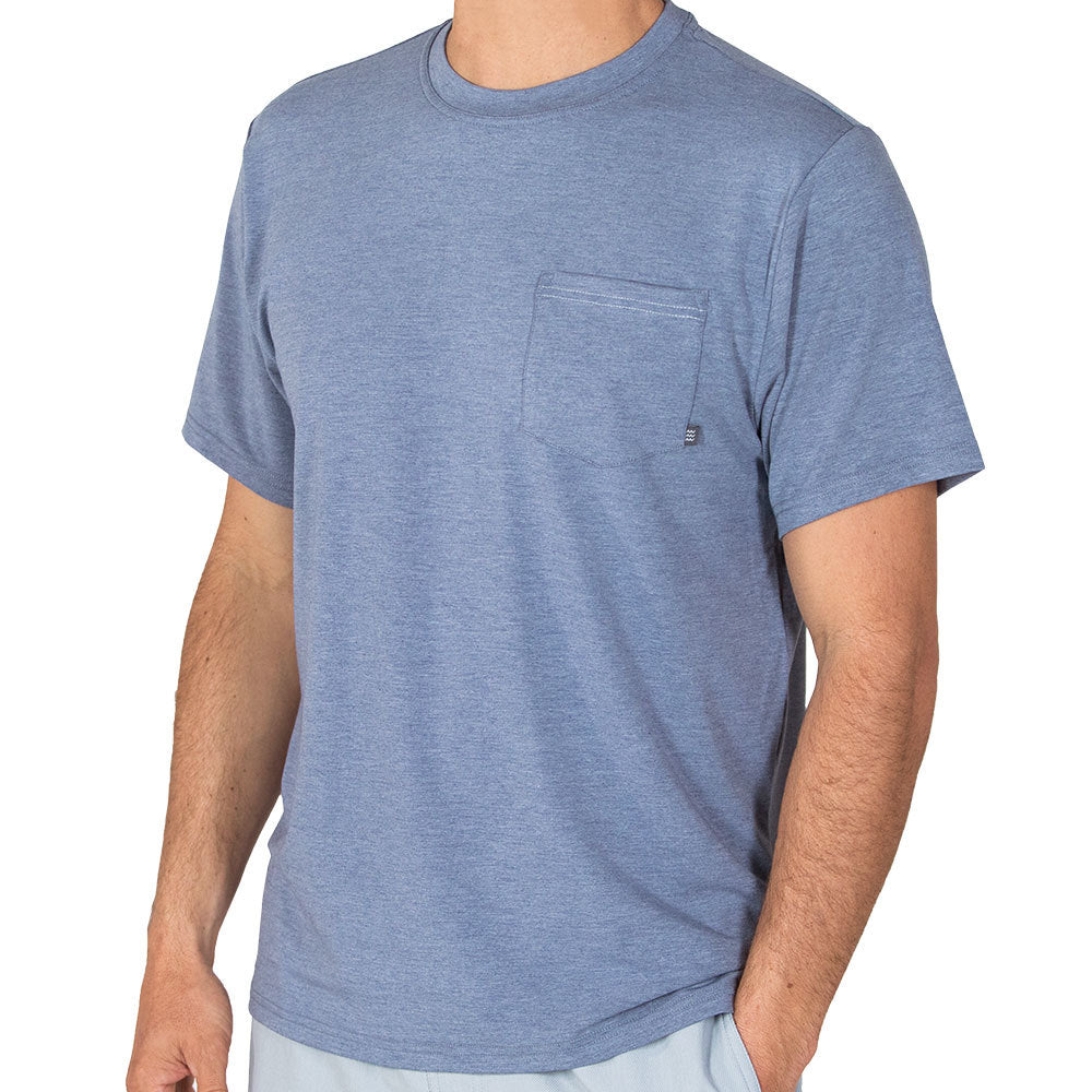 Free Fly Men's Bamboo Flex Pocket Tee