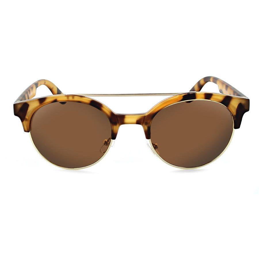 Optic Nerve Busby Sunglasses - Matte Honey Demi