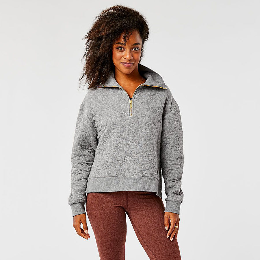 Carve Designs Pomona Pull Over - Pewter Heather
