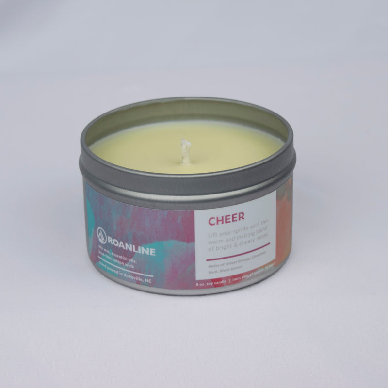 Roanline 8 oz. Cheer Candle