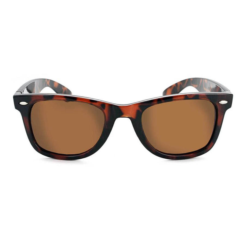 Optic Nerve Dylan Sunglasses - Shiny Demi Brown