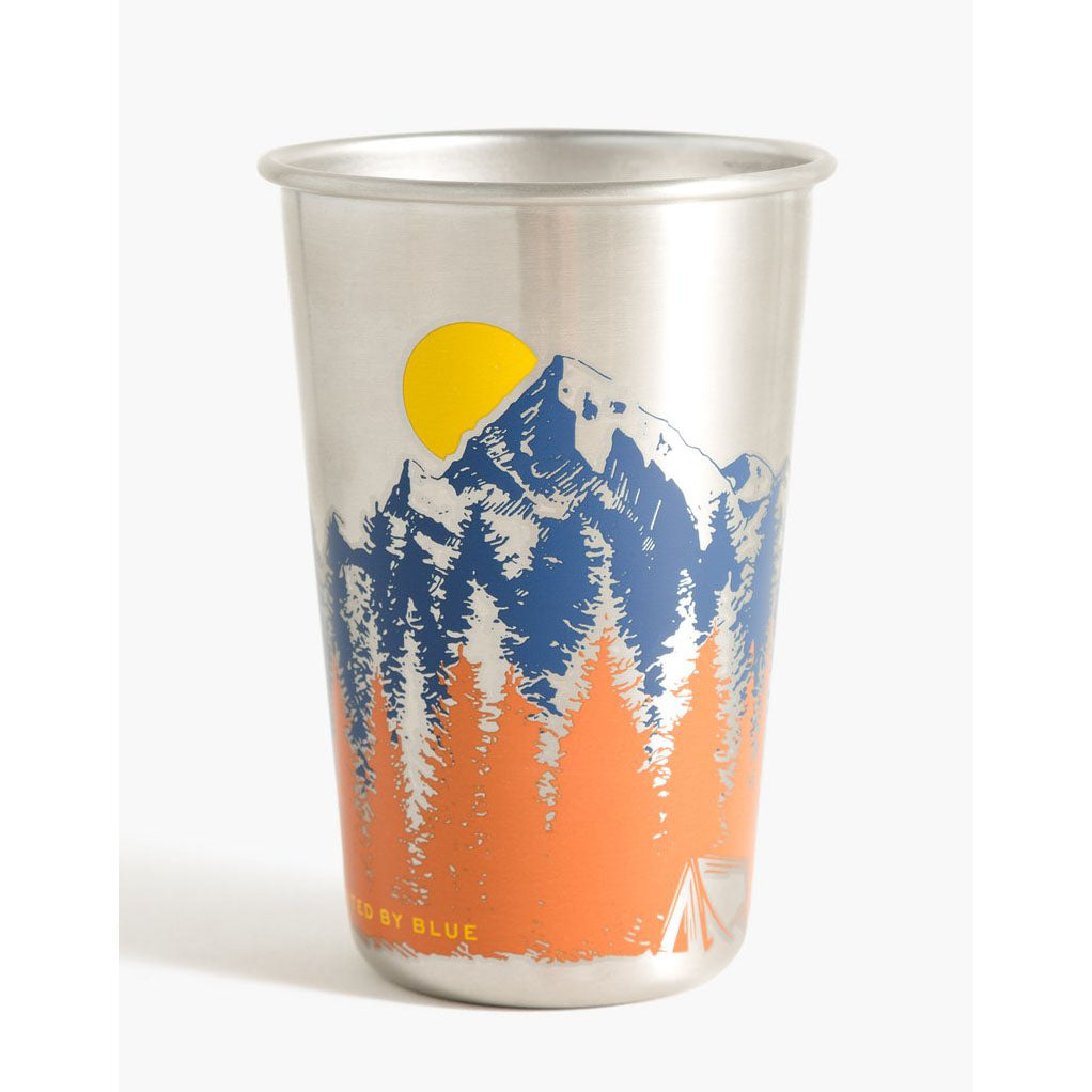 United By Blue Treeline Stainless Steel Tumbler