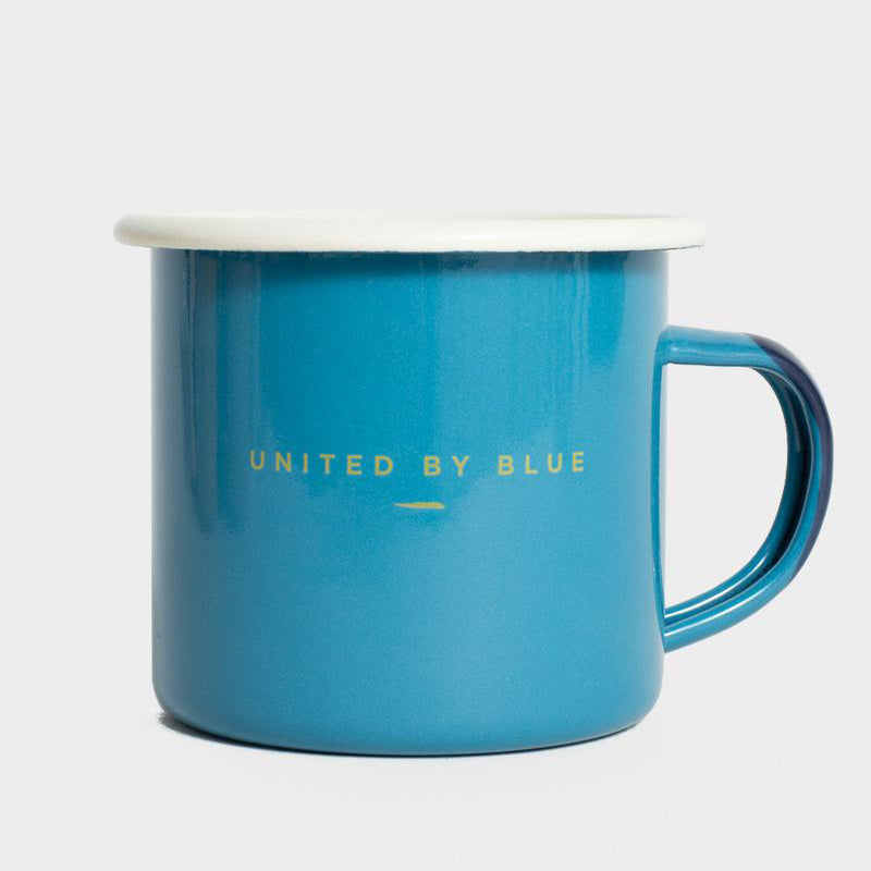 United By Blue Catch Of The Day Enamel 12 oz. Mug