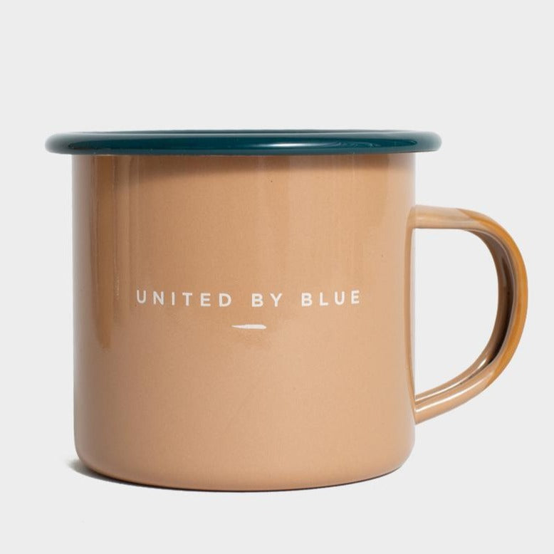 United By Blue Home On The Range Enamel 12 oz. Mug