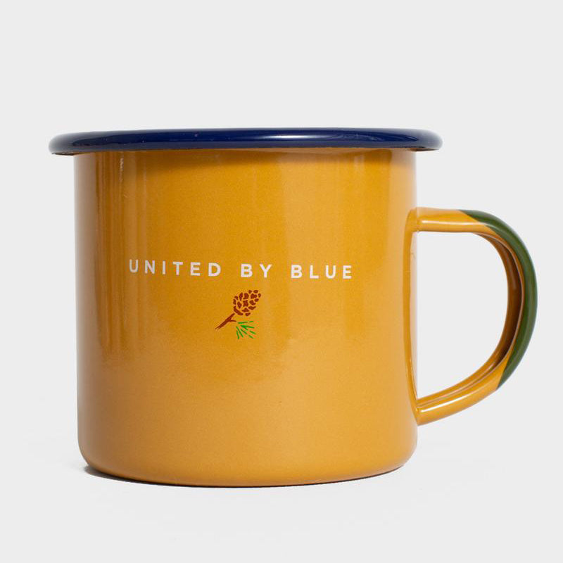 United By Blue Grizzly Enamel 12 oz. Mug