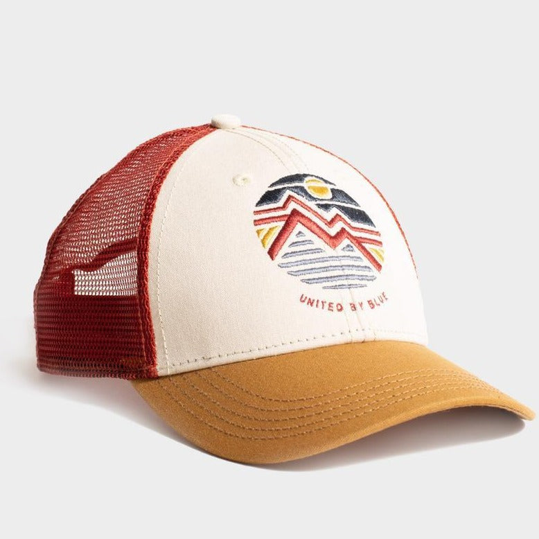 United By Blue Women's Geo Mountain Trucker Hat