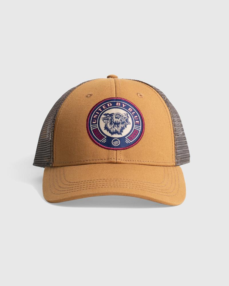 United By Blue Grizzly Trucker Hat