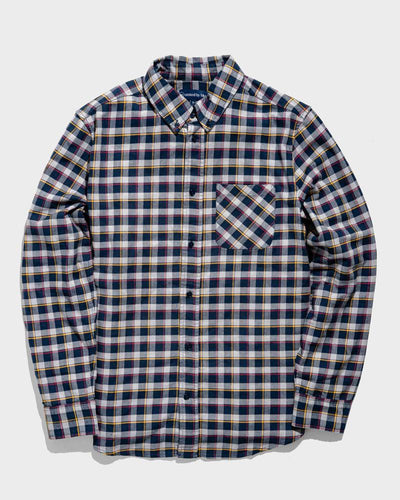 United By Blue Men's Organic Plaid Button Down