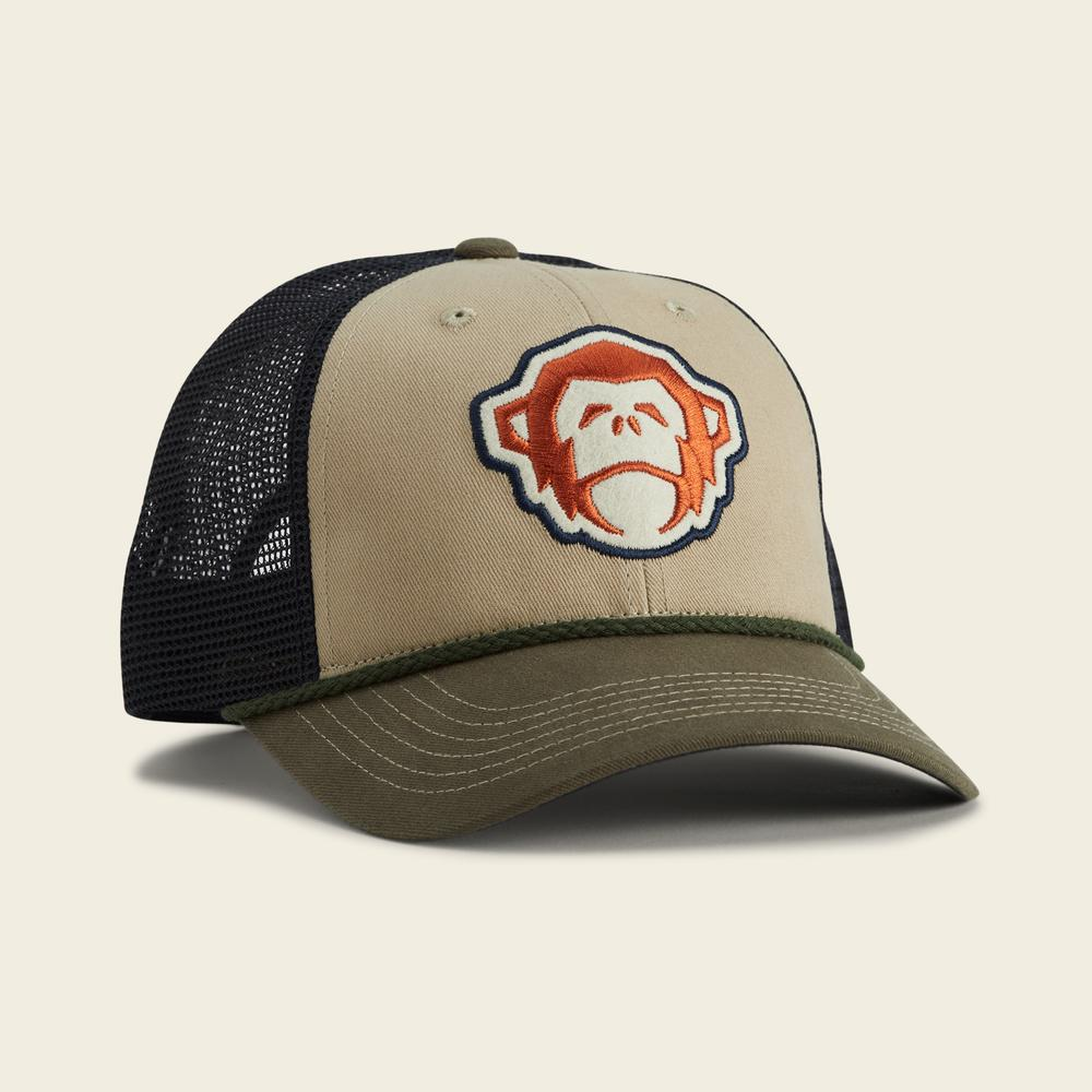 Howler Brothers El Mono Hat - Khaki / Rifle Green