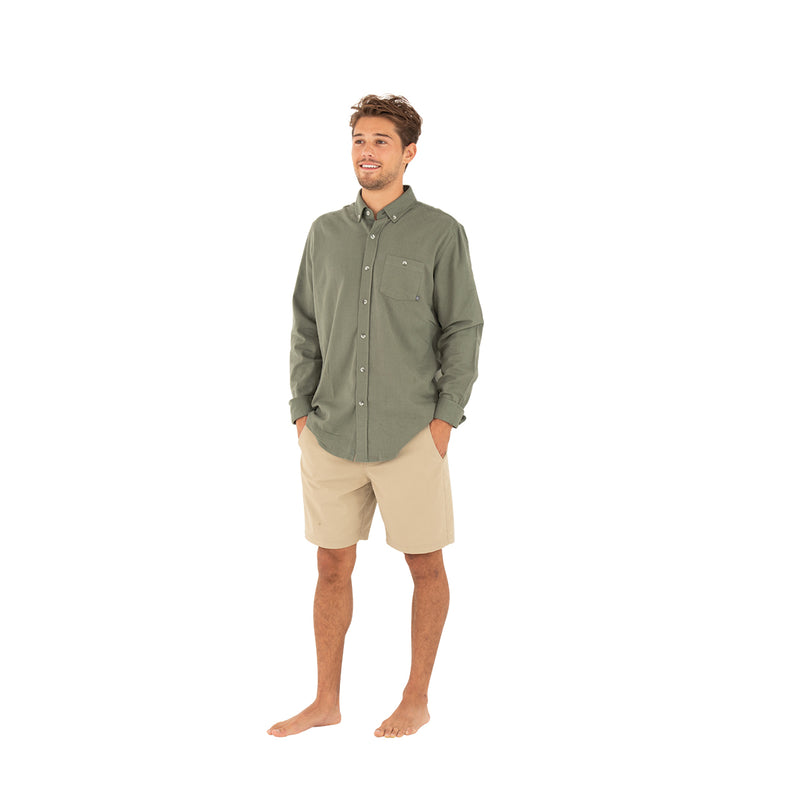 Free Fly Men's Bamboo Flannel Button Up