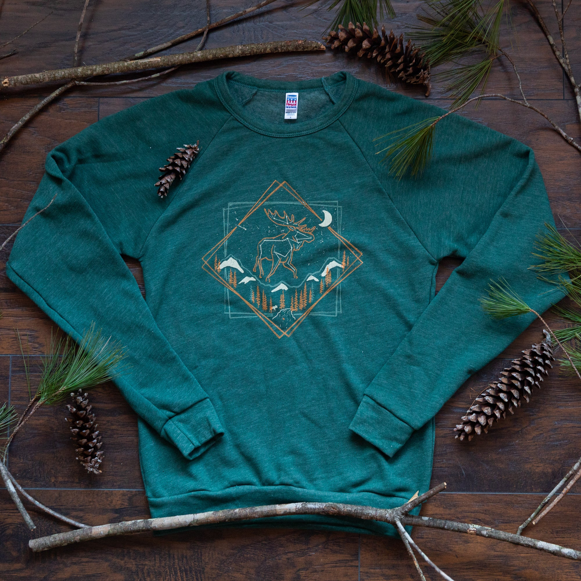 Menottees Heaven's Wild Moose Sweatshirt