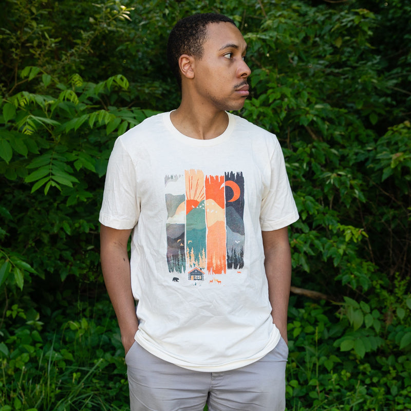 Menottees Mountain Weather Tee