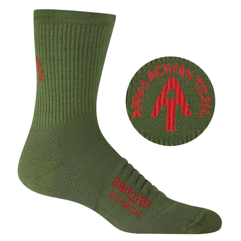 Farm to Feet Harpers Ferry 3/4 Crew Sock - Men's