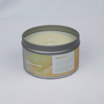 Roanline 8 oz. Hearth Candle