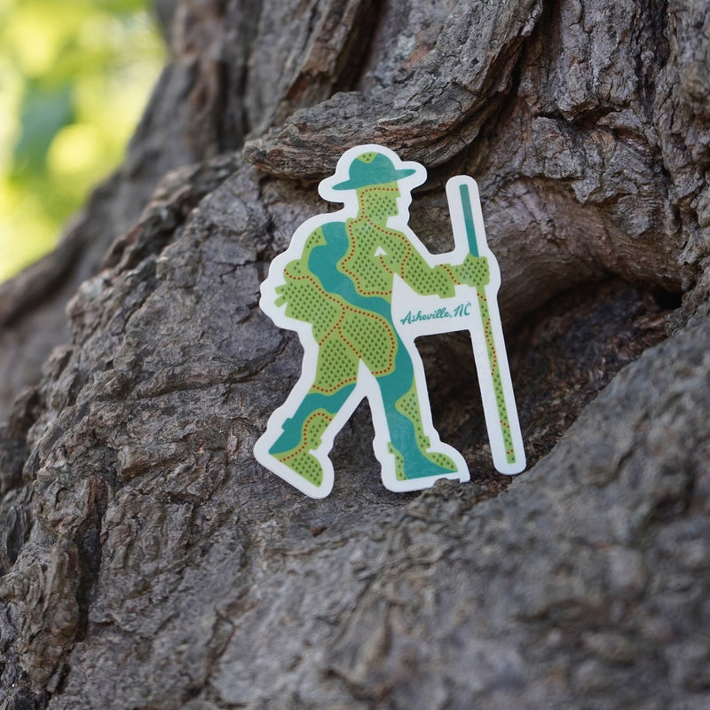 Outdoorsman Sticker