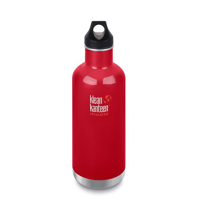 Klean Kanteen Insulated Classic 32 oz. Water Bottle with Loop Cap