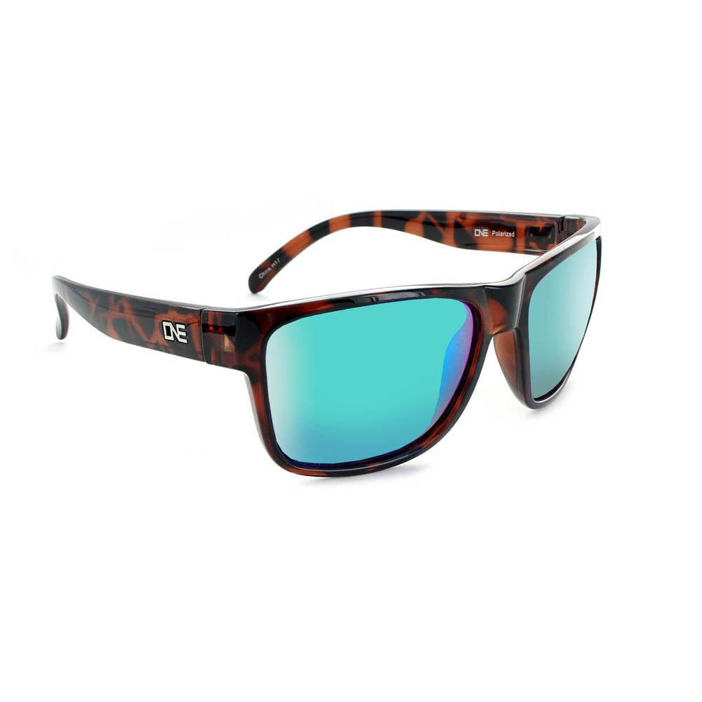 Optic Nerve Kingfish Sunglasses - Shiny Dark Demi