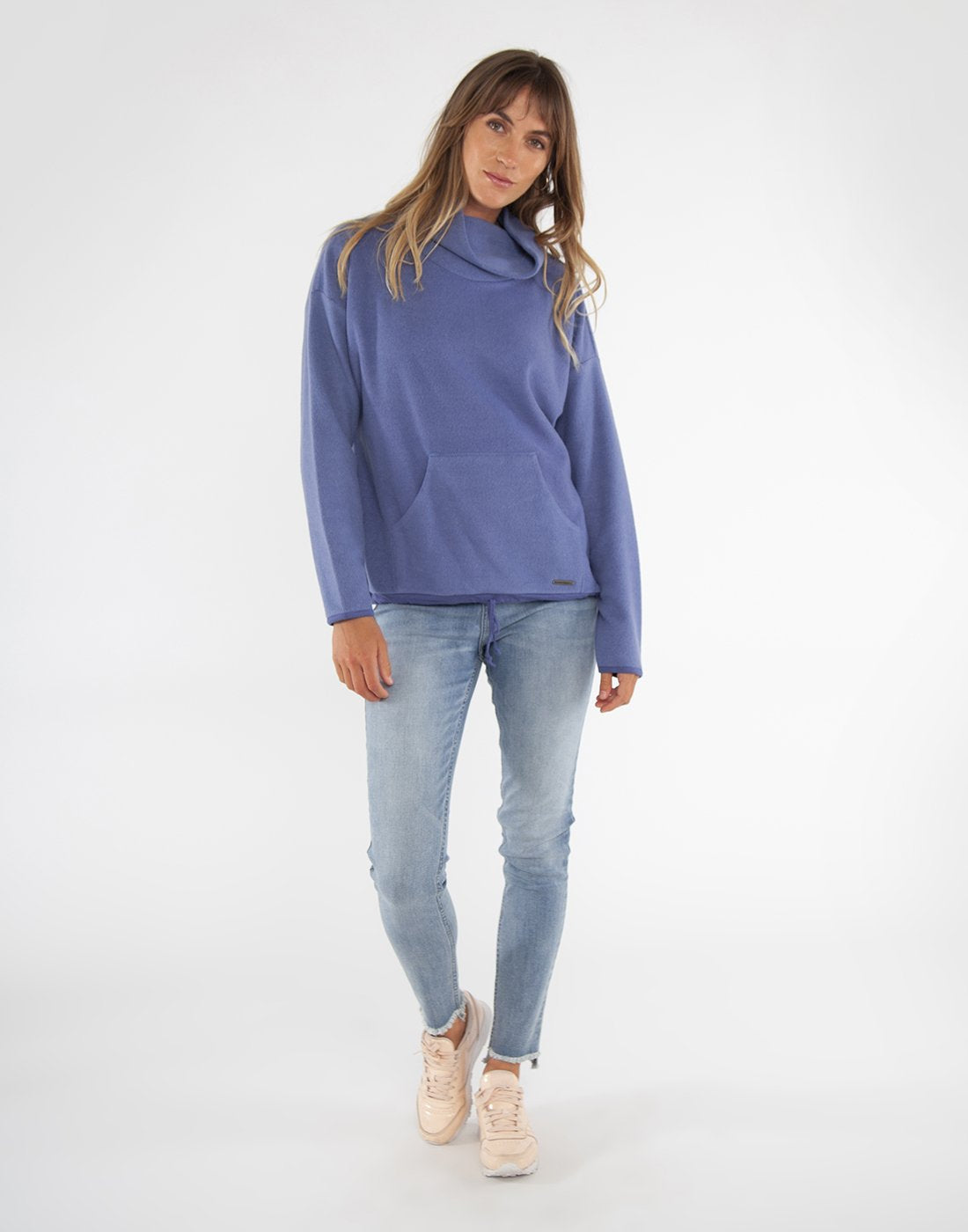 Carve Designs Rowayton Cowl Neck Sweater - Sale