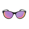 Optic Nerve Lahaina Sunglasses - Shiny Black with Pink
