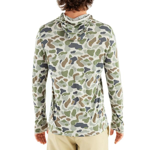Free Fly Men's Bamboo Lightweight Hoody - Camo Sale
