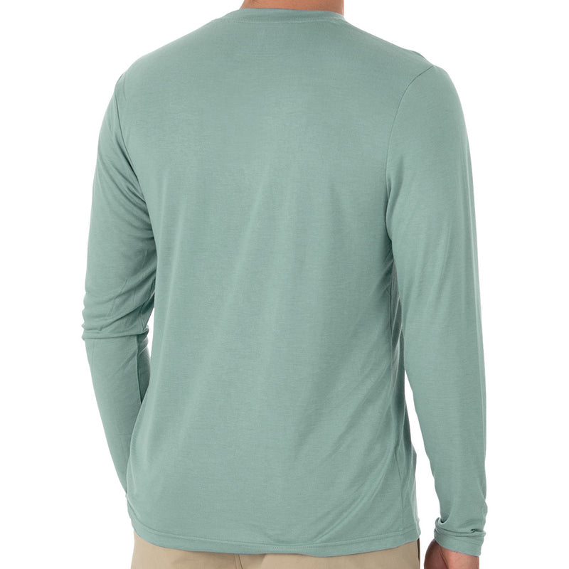 Free Fly Men's Bamboo Cruiser Henley - Sale