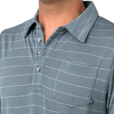 Free Fly Men's Bamboo Dockside Polo