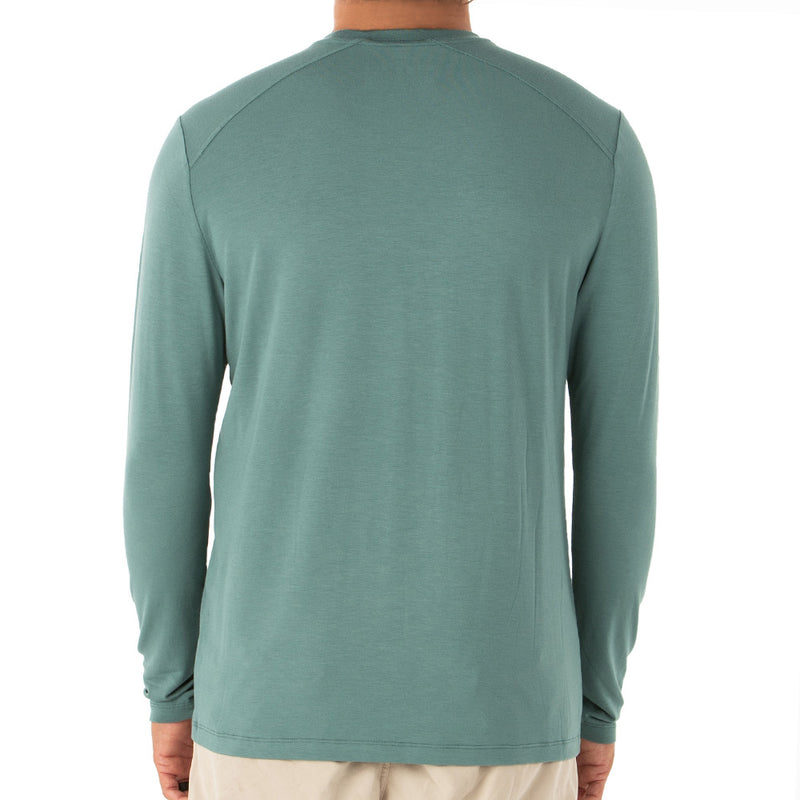 Free Fly Men's Bamboo Midweight Long Sleeve Shirt - Final Sale