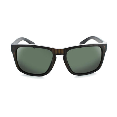 Optic Nerve Ziggy Sunglasses - Matte Vertical Driftwood Demi