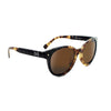 Optic Nerve Hotplate Sunglasses - Shiny Two Tone Marble
