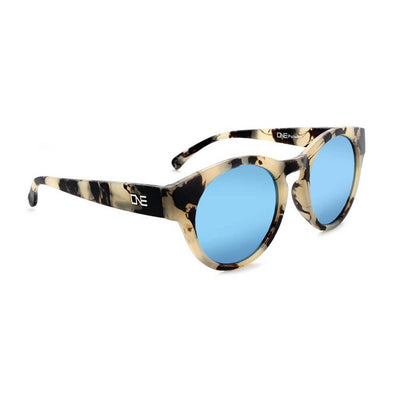 Optic Nerve Rizzo Sunglasses - Matte Beige Marble