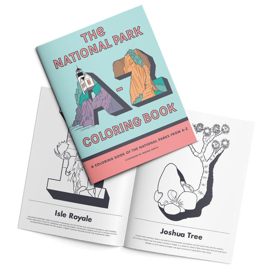 Parks Project National Parks A-Z Coloring Book