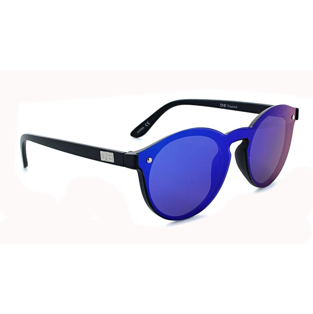 Optic Nerve Roundhouse Sunglasses - Matte Black