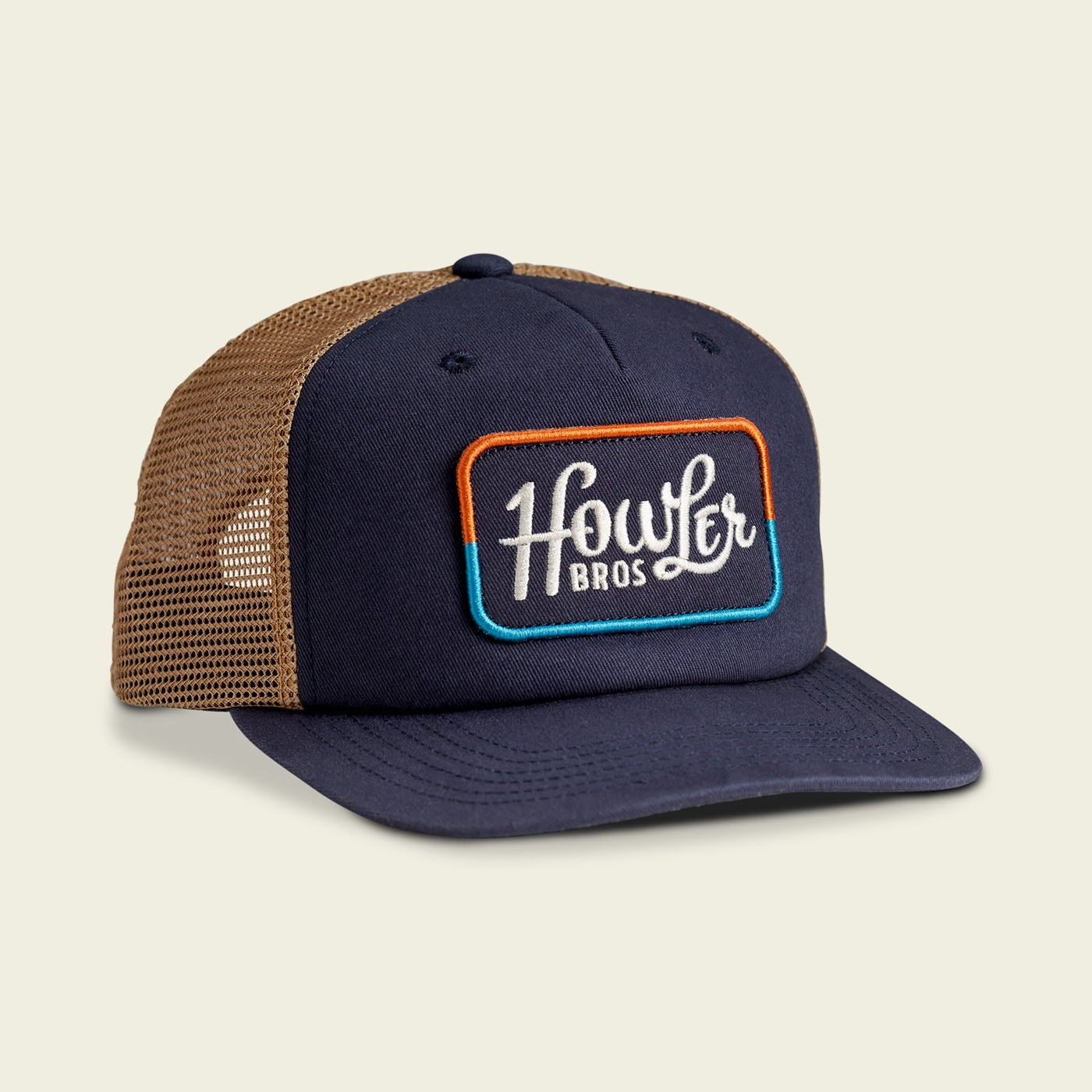 Howler Brothers Howler Classic Snapback - Navy/Old Gold