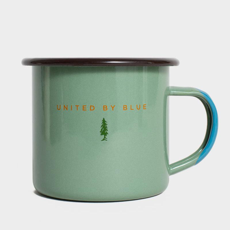 United By Blue Mountain Bound Enamel 12 oz. Mug