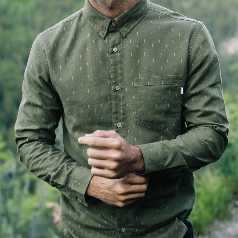Tentree Men's Mancos Button Up Longsleeve