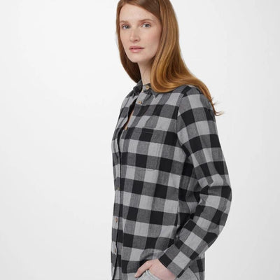 Tentree Women's Lush Button Up Longsleeve