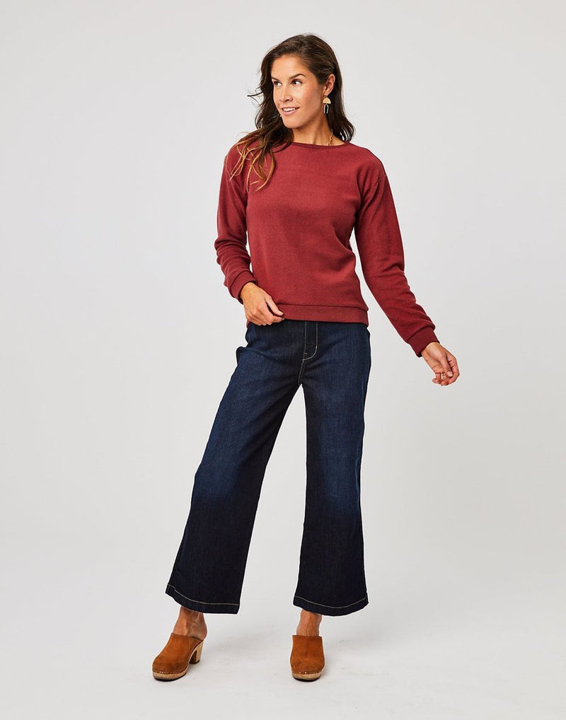 Carve Designs Ruby Crewneck - Sale