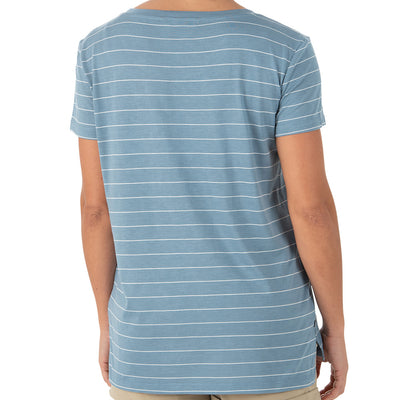 Free Fly Women's Bamboo Channel Pocket Tee - Final Sale